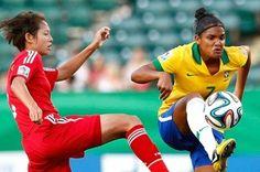 Blog Esportivo do Suíço: Brasil vacila e cede empate à China na estreia do Mundial feminino sub-20