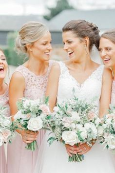Gorgeous white wedding flowers by the award winning floral design company based in Essex, The Flower Mill, specialising in Wedding Flowers. Wedding flowers - arrangements, white, summer, bouquets