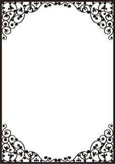 Dainty Frame Embossing Folder by Crafts Too for sale online Frame Border Design, Page Borders Design, Boarder Designs, Borders For Paper, Borders And Frames, Floral Frames, Frame Background, Frame Clipart, Paper Frames