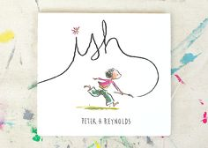 Crumpled Paper Art inspired by the children's book, Ish by Peter Reynolds