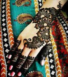 Beautiful menthi art