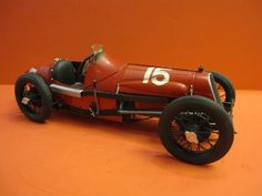 PROTAR , Made in Italy , 1975 FIAT 806 1500c.c. RACER 1927 1/12° SCALE PRO BUILD OBSOLETE METAL KIT RACING CAR 31 CM LONG , PERFECT CONDITION VERY NICE CAR , PRO BUILD With a vintage wood and glass di