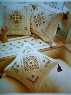 Patrones Crochet, Manualidades y Reciclado: APRENDE A COMO HACER PUNTADAS DE BORDADOS NORUEGOS HARDANGER
