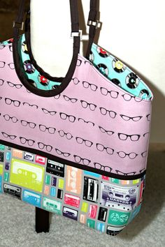 Nancy Zieman Hobo Tote Bag Tour Day 6 by Jina's World of Quilting