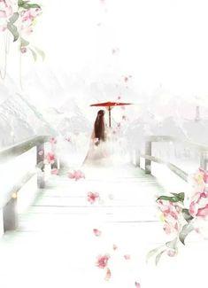 Fantasy Landscape, Landscape Art, Fantasy Art, Ancient Beauty, Ancient Art, Chinese Background, Japon Illustration, Art Asiatique, China Art