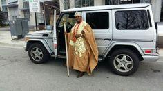 Oba Adewale Akanbi Drives His G-wagon In Canada. Photos - Culture - Nigeria http://www.nairaland.com/3716863/oba-adewale-akanbi-drives-g-wagon