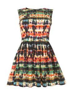 AX Paris Multicolour Tie Dye Skater Dress