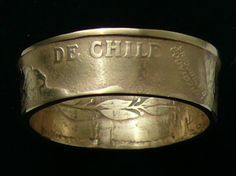 chilean coin ring.