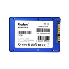 """Blue case original kingspec 7/9.5MM 2.5"""" SSD 240GB Solid State Drive internal for laptop/PC Computer SATAIII 6Gbps HD hard disk"""