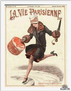 """""""La Vie Parisienne"""", è stata una delle più famose e conosciute riviste parigine, uno dei primi settimanali illustrati francesi. Fondat..."""