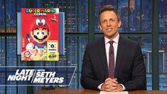 Matt Lauer's New Office, Kellogg's Super Mario Cereal - Monologue