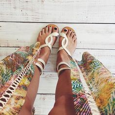 Good sandals take you good places.