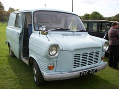"1967 Ford Transit van. The birth of the ""white van man"" in the UK."
