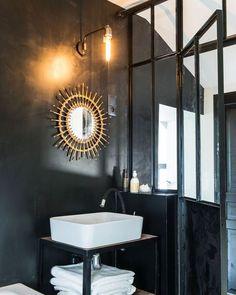 Du style industriel dans la salle de bain