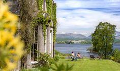 breakfast by the Loch - Ardenaisaig Hotel.  Photo: Murdo Maclead for the Guardian