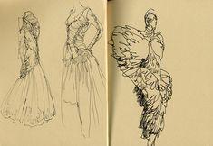 sketchbook alexander mcqueen - Pesquisa Google