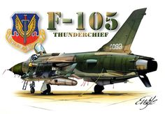 Early F-105D model.