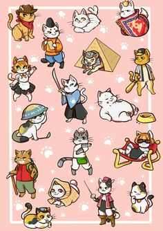 Neko Atsume fan art ❤
