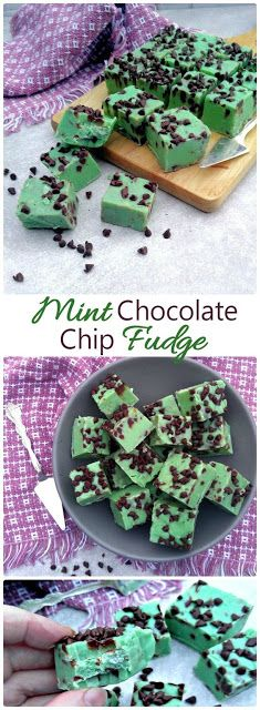 Mint Chocolate Chip Fudge Recipes