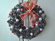uDanky / Vianočný veniec na dvere