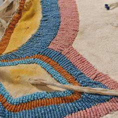 Plateau Beaded Hide Child's Dress