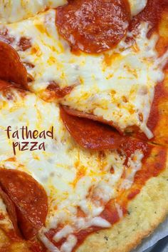 Fathead Pizza | That Low Carb Life