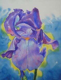 Mary Rollins   WATERCOLOR