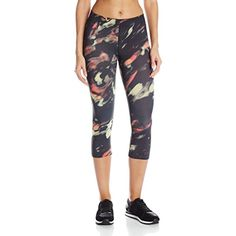 New Balance Women's Printed Capri Pant >>> Continue to the product at the image link. (This is an affiliate link and I receive a commission for the sales) #Yoga