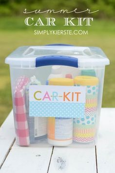 10 Organizers Anyone Going on a Road Trip With Kids Needs