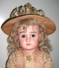 "Lovely 24"" Steiner A Circa 1889 Antique Doll - Layaway"