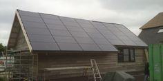 Afbeeldingsresultaat voor zonnepanelen in dak integreren