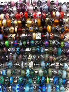 Trollbeads production, retired, rare and unique beads! How much do I love theeeese!!