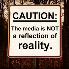 Caution... Reality...