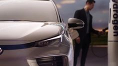 AbanCommercials: Toyota TV Commercial  • Toyota advertsiment  • Mirai - Q&A: What It's Not - 2017 • Toyota Mirai - Q&A: What It's Not - 2017 TV commercial • Q: Where does a brighter future start?A: Right here and now in the hydrogen fueled Toyota Mirai. The 2017 Toyota Mirai.