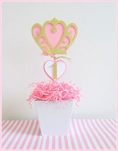 The inimitable looks for princess party decorations . Shop Princess Centerpieces on Wanelo. Shop the latest Princess Centerpieces products from MariasFarmhouse Princess Theme, Princess Birthday, Princess Diana, 1st Birthday Parties, 2nd Birthday, Princess Party Centerpieces, Princesse Party, Gold Glitter Paper, Baby Shower Decorations
