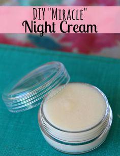 DIY Miracle Night Cream...http://improvedaging.com/diy-miracle-night-cream/