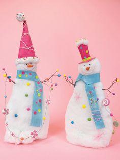 whimsical christmas ideas | ... Whimsical Snowmen Christmas Table Top Decoration 34 Distributor