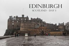 We had such a great time exploring Scotland on our spring break trip! This post will cover Edinburgh - Scotland Day Spring Break Trips, Edinburgh Scotland, Travel Information, Cheap Travel, Day Trip, Vacation Ideas, Places To Visit, Europe, Explore