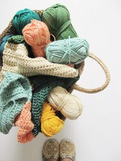 pretty yarn. | dottie angel