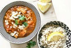 making it tonight! Yumm-o! Great Recipes, Favorite Recipes, Asian Recipes, Ethnic Recipes, Chicken Tikka Masala, Tasty, Yummy Food, Naan, Bruschetta