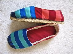 How to make Espadrilles