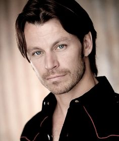 Peter Franzén, a Finnish actor. Peter is not only handsome also a great character actor.
