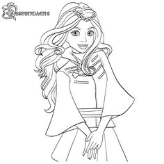 coloring sheets Descendant Coloring Pages Ideas with Superstar Casts. Today, there will be two kinds of Descendant coloring pages. Firstly, it relates to the Disney Channel Original Mo Free Coloring Sheets, Disney Coloring Pages, Free Printable Coloring Pages, Coloring Pages For Kids, Cat Coloring Page, Animal Coloring Pages, Coloring Pages To Print, Coloring Books, Colouring