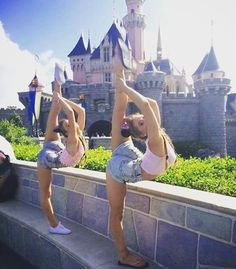 These girls are dancers and besti es
