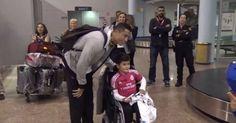 27 de outubro de 2015: Cristiano Ronaldo - Faz surpresa a menino com mobilidade reduzida (VIP) Com: Cristiano Ronaldo