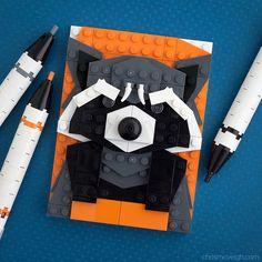 Rocket Racoon + Legos?!?!?