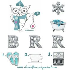 lets have a snow day origami owl style start here 1 slip on