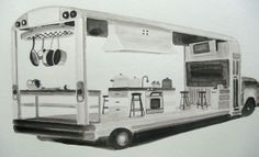 Mobile Kitchen Classroom - The Next Stop In Food Education