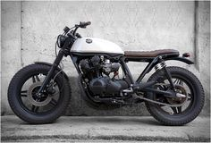 HONDA BLACK CREAM | BY CRD MOTORCYCLES. I continue to pin bikes. Though I'll never get one.