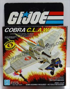 Cobra CLAW Glider Vehicles MIB C-8.5